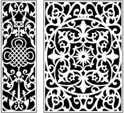 Design pattern panel screen AN00071215 file cdr and dxf free vector download for Laser cut CNC