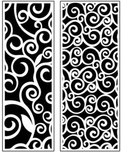 Design pattern panel screen AN00071216 file cdr and dxf free vector download for Laser cut CNC