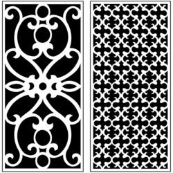 Design pattern panel screen AN00071217 file cdr and dxf free vector download for Laser cut CNC