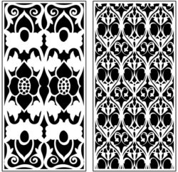 Design pattern panel screen AN00071218 file cdr and dxf free vector download for Laser cut CNC