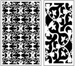 Design pattern panel screen AN00071219 file cdr and dxf free vector download for Laser cut CNC