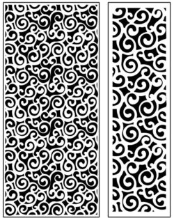 Design pattern panel screen AN00071220 file cdr and dxf free vector download for Laser cut CNC