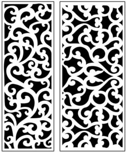 Design pattern panel screen AN00071223 file cdr and dxf free vector download for Laser cut CNC
