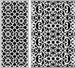 Design pattern panel screen AN00071224 file cdr and dxf free vector download for Laser cut CNC