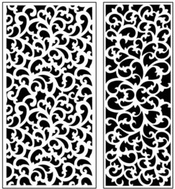 Design pattern panel screen AN00071226 file cdr and dxf free vector download for Laser cut CNC