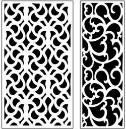 Design pattern panel screen AN00071228 file cdr and dxf free vector download for Laser cut CNC