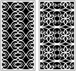 Design pattern panel screen AN00071229 file cdr and dxf free vector download for Laser cut CNC
