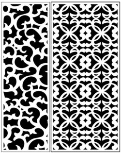 Design pattern panel screen AN00071230 file cdr and dxf free vector download for Laser cut CNC