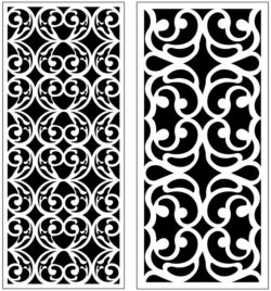 Design pattern panel screen AN00071231 file cdr and dxf free vector download for Laser cut CNC