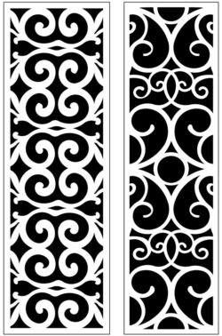 Design pattern panel screen AN00071232 file cdr and dxf free vector download for Laser cut CNC