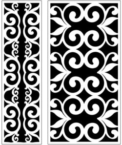 Design pattern panel screen AN00071234 file cdr and dxf free vector download for Laser cut CNC