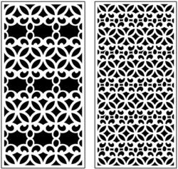 Design pattern panel screen AN00071235 file cdr and dxf free vector download for Laser cut CNC