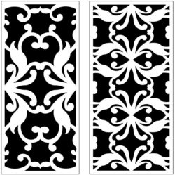 Design pattern panel screen AN00071236 file cdr and dxf free vector download for Laser cut CNC