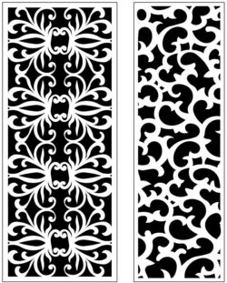 Design pattern panel screen AN00071237 file cdr and dxf free vector download for Laser cut CNC