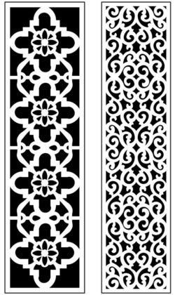 Design pattern panel screen AN00071243 file cdr and dxf free vector download for Laser cut CNC