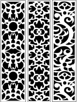 Design pattern panel screen AN00071244 file cdr and dxf free vector download for Laser cut CNC