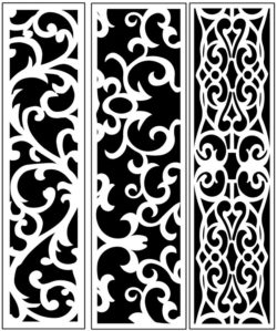 Design pattern panel screen AN00071245 file cdr and dxf free vector download for Laser cut CNC