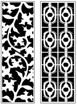 Design pattern panel screen AN00071246 file cdr and dxf free vector download for Laser cut CNC