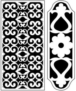 Design pattern panel screen AN00071254 file cdr and dxf free vector download for Laser cut CNC