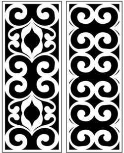 Design pattern panel screen AN00071256 file cdr and dxf free vector download for Laser cut CNC