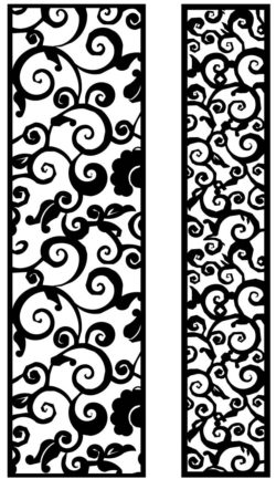Design pattern panel screen AN00071257 file cdr and dxf free vector download for Laser cut CNC