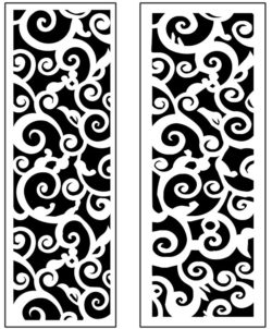 Design pattern panel screen AN00071258 file cdr and dxf free vector download for Laser cut CNC