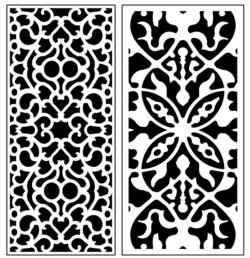 Design pattern panel screen AN00071261 file cdr and dxf free vector download for Laser cut CNC