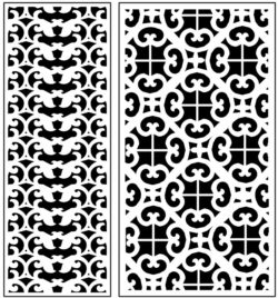 Design pattern panel screen AN00071274 file cdr and dxf free vector download for Laser cut CNC