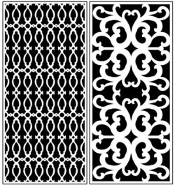 Design pattern panel screen AN00071276 file cdr and dxf free vector download for Laser cut CNC
