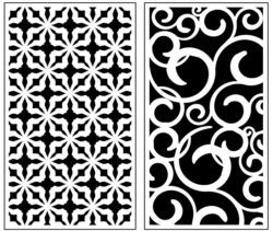 Design pattern panel screen AN00071277 file cdr and dxf free vector download for Laser cut CNC