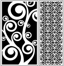 Design pattern panel screen AN00071283 file cdr and dxf free vector download for Laser cut CNC