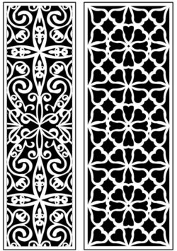 Design pattern panel screen AN00071284 file cdr and dxf free vector download for Laser cut CNC
