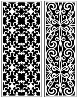 Design pattern panel screen AN00071285 file cdr and dxf free vector download for Laser cut CNC