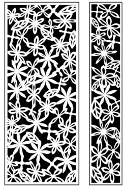 Design pattern panel screen AN00071288 file cdr and dxf free vector download for Laser cut CNC