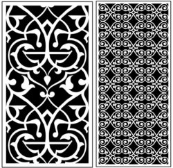 Design pattern panel screen AN00071290 file cdr and dxf free vector download for Laser cut CNC