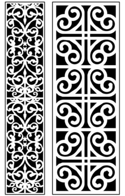 Design pattern panel screen AN00071291 file cdr and dxf free vector download for Laser cut CNC