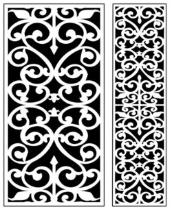 Design pattern panel screen AN00071292 file cdr and dxf free vector download for Laser cut CNC