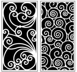 Design pattern panel screen AN00071293 file cdr and dxf free vector download for Laser cut CNC