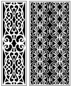 Design pattern panel screen AN00071294 file cdr and dxf free vector download for Laser cut CNC