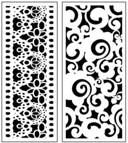 Design pattern panel screen AN00071295 file cdr and dxf free vector download for Laser cut CNC