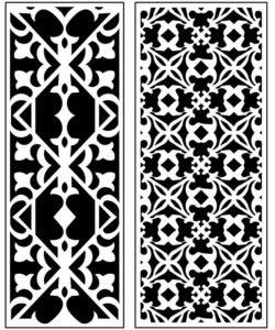 Design pattern panel screen AN00071296 file cdr and dxf free vector download for Laser cut CNC