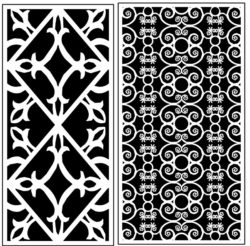 Design pattern panel screen AN00071297 file cdr and dxf free vector download for Laser cut CNC