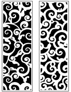 Design pattern panel screen AN00071298 file cdr and dxf free vector download for Laser cut CNC