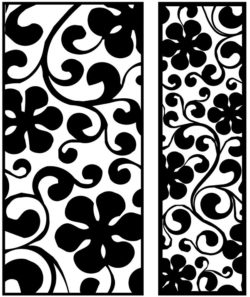 Design pattern panel screen AN00071308 file cdr and dxf free vector download for Laser cut CNC