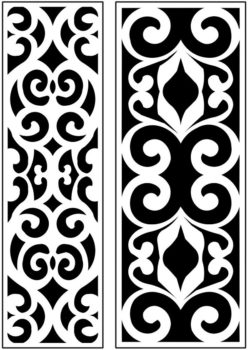 Design pattern panel screen AN00071310 file cdr and dxf free vector download for Laser cut CNC