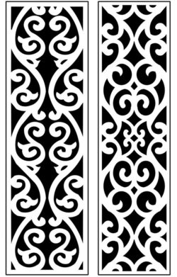 Design pattern panel screen AN00071311 file cdr and dxf free vector download for Laser cut CNC