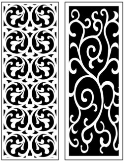 Design pattern panel screen AN00071315 file cdr and dxf free vector download for Laser cut CNC