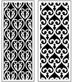 Design pattern panel screen AN00071333 file cdr and dxf free vector download for Laser cut CNC