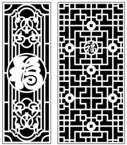 Design pattern panel screen AN00071385 file cdr and dxf free vector download for Laser cut CNC
