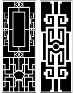 Design pattern panel screen AN00071398 file cdr and dxf free vector download for Laser cut CNC